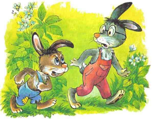 Сказка про зайца грязнулю с картинками