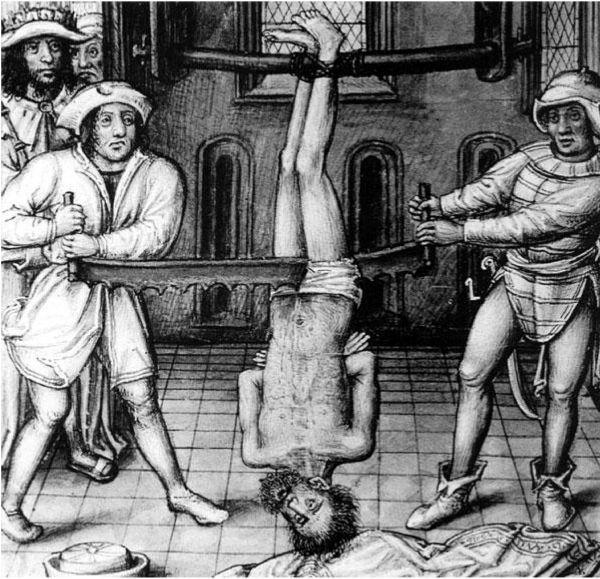 Картинка наказывают человека