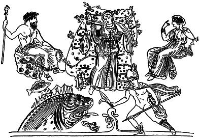 Рисунок к мифам о северном причерноморье