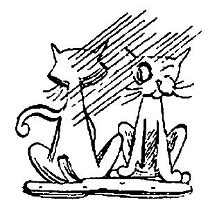 Катаев В.П. Пять Робинзонов 31. Снова коты