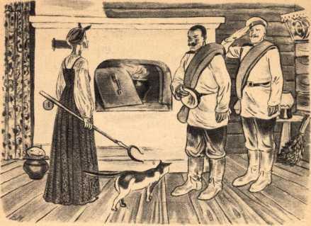 похороны картинки по сказке солдатская загадка является довольно простым